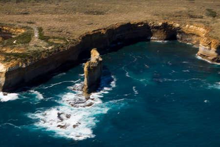 Beautiful Aerial view  Twelve Apostles  Port Campbell National Park Victoria Australia Reklamní fotografie