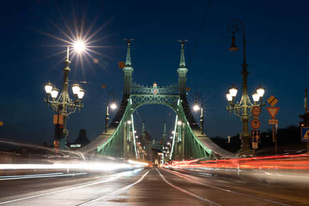 Budapest Bridge Stok Fotoğraf