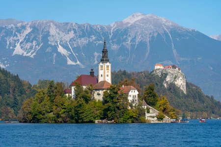 Lake Bled Stok Fotoğraf