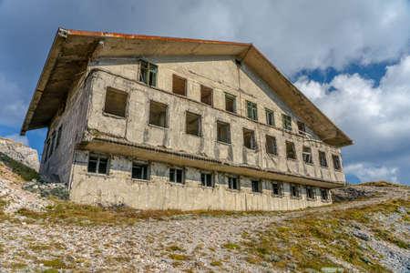 Abandoned Military Barracks Stok Fotoğraf