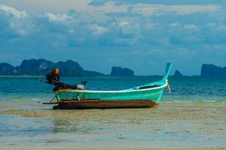 Thai Longboat Stock Photo