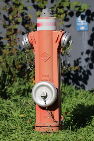 Red hydrant / water hydrant for the fire department (Göttingen district)