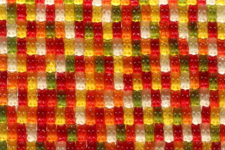 Colorful Gummibärchen  Gummibären (Sweets from Germany)