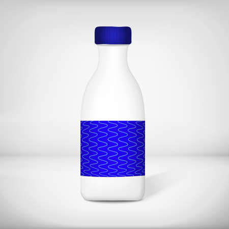プラスチック製のボトル  イラスト・ベクター素材