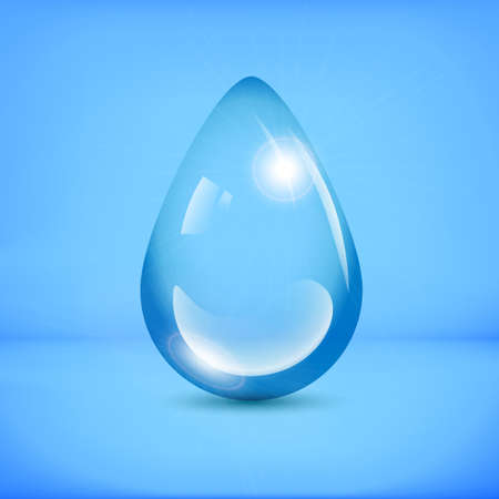 thundershower: water drop