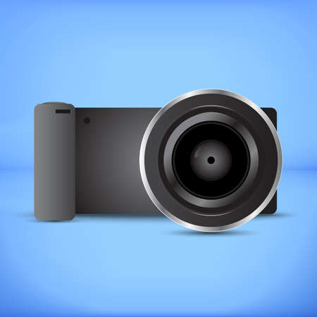 mirrorless camera: Black plastic Digital Mirrorless interchangeable lens camera