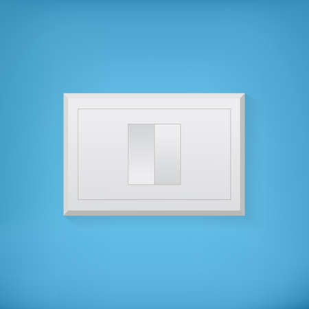 Electric switcher on a wall Vector