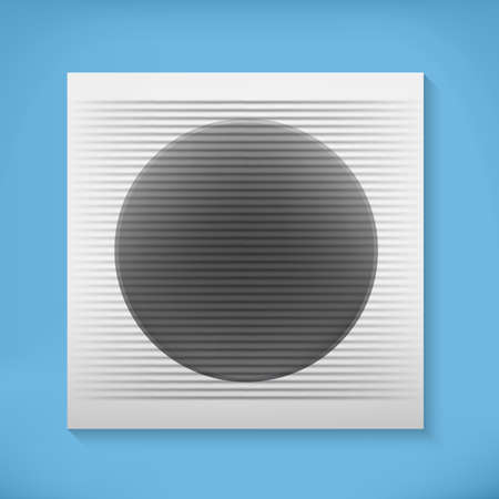 job opening: Home ventilation unit with blue background