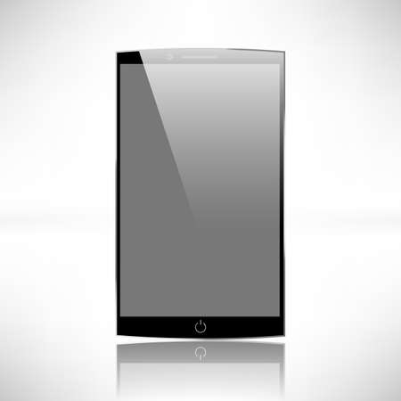 object printing: Smartphones vector mockup black and white. Can use for background frame. brochure object. web element, object for printing, app background mockup.