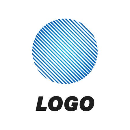 Business Abstract Circle logo. Corporate, Media, Technology styles vector logo design template.
