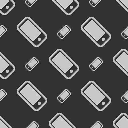 mobile phones: Seamless abstract pattern for web or for textile