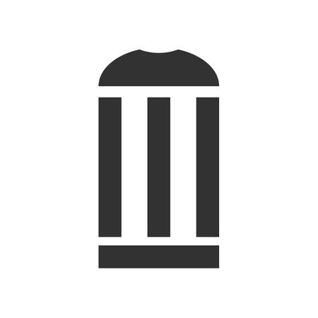 dumping: recycle bin icon