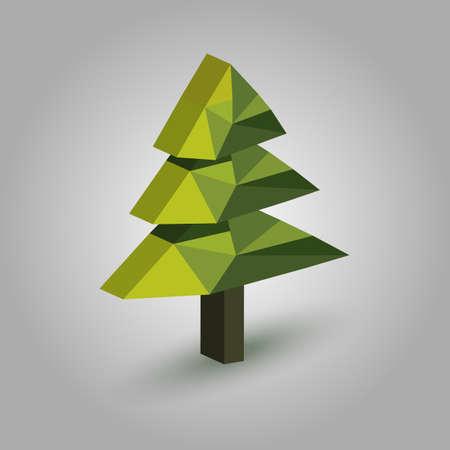 低ポリクリスマスツリー