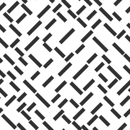 Abstract shapes vector seamless pattern on the white background