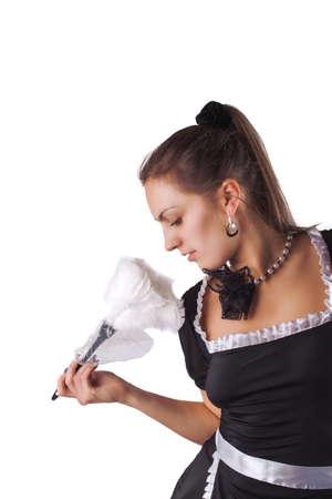 franzosisch magd nahtstrumpfe