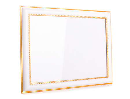 Photoframe isolated on white background