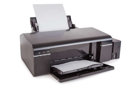 Color Printer. Isolated photo