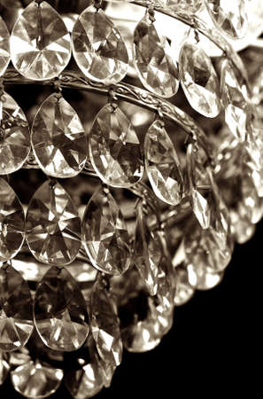 sconces: Mystery of crystal