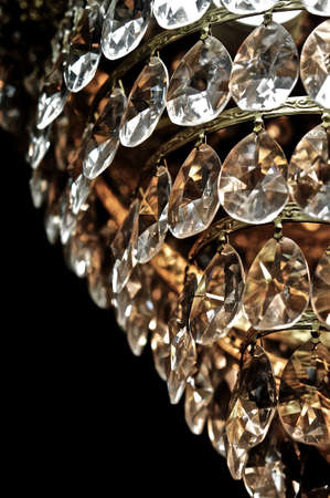 sconces: Crystal tale  Stock Photo
