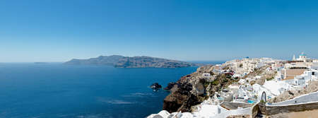 Santorini  Panorama photo