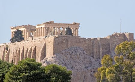 The Acropolis (and the Parthenon) of Athens, Greece