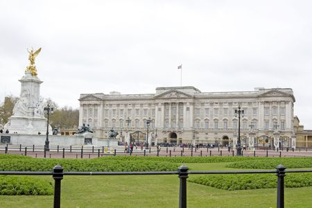 The famous Buckingham Palace in London, UK