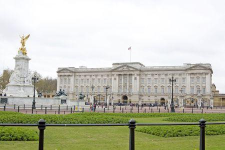 The famous Buckingham Palace in London, UK