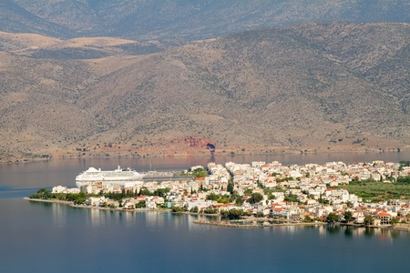 The port town of Itea, close to the ancient place of Delphi, Central Greece