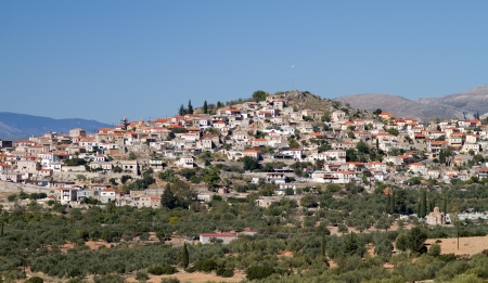peloponnese: The picturesque and old village of Geraki in Lakonia area, Greece Stock Photo