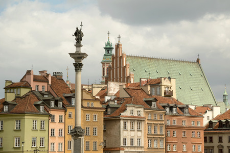 The old town (Stare Miasto) of Warsaw, Poland