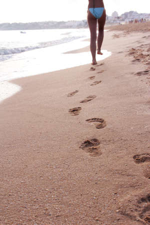 leaving footprints photo