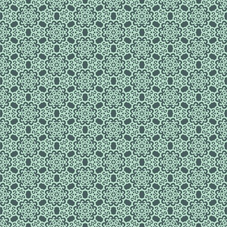 seamless  pattern on green background.  illustration Vector