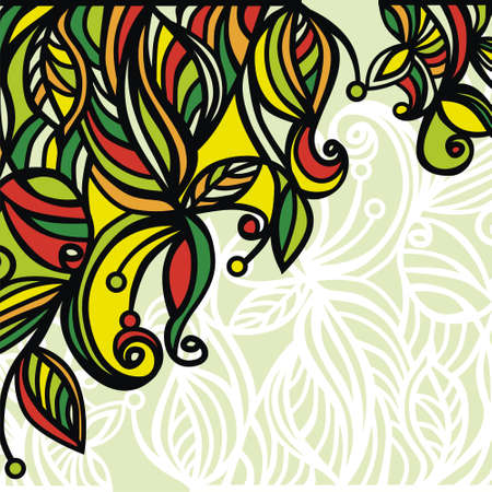 vector background consist of colorful patterns. Vector illustration Stock Vector - 18583882