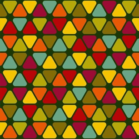 seamless texture with colorful pattern. Vector illustration Illustration