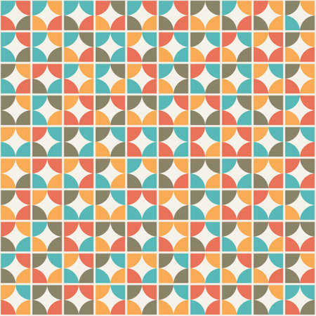 rnart: seamless texture with tracery figured pattern. Vector illustration Illustration