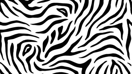 zebra stripes: Zebra Stripes Seamless Pattern vector texture background Illustration