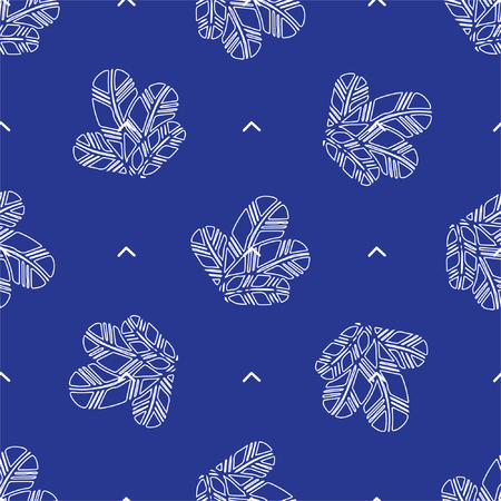 bunch: bunch of Feathers seamless pattern