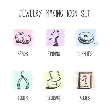 Hobby Jewelry Making Icons