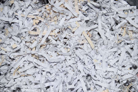Shredding paper cuts in an office
