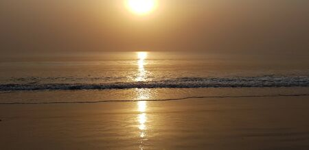 sunrise and atlantic ocean in Africa