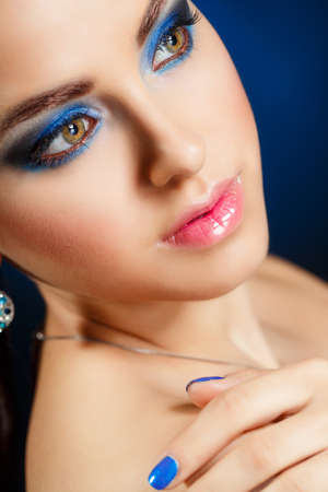 Beauty Vogue Style Fashion Model Girl photo