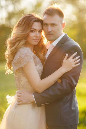 Dating in the dark wedding photo