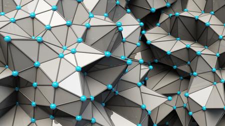 Plexus effect, 3D rendering