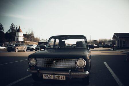 Old soviet car Lada Editöryel