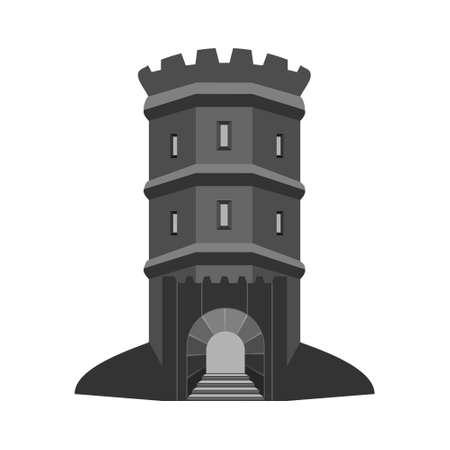 Bastion tower. Medieval fort. Citadel.