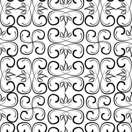 Seamless pattern with ornaments. Elements for design and decoration. 免版税图像 - 97024446
