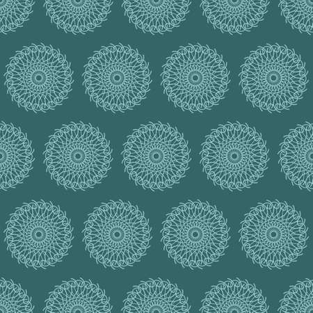 Seamless pattern with ornaments. Elements for design and decoration. Vector illustration. 免版税图像 - 98362807