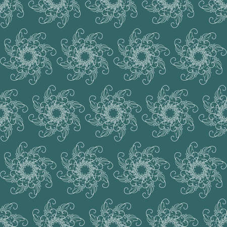 Seamless pattern with ornaments. Elements for design and decoration. 矢量图像