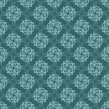 Seamless pattern with ornaments. Elements for design and decoration. 免版税图像