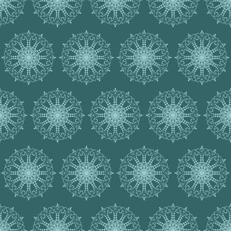 Seamless pattern with ornaments. Elements for design and decoration. 免版税图像 - 98959466